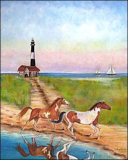 LightHousePharmacyGicleeeofOilPainting16x20